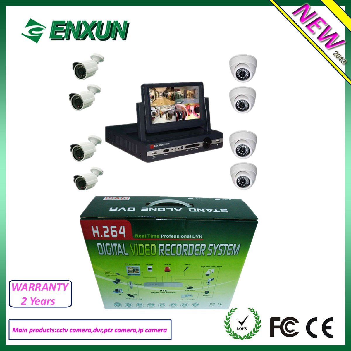 d1 technology cctv camera system COMPLETE Camera DVR System security camera system