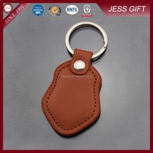 Cheap Promotion Leather Key Ring Custom Leather Keychain
