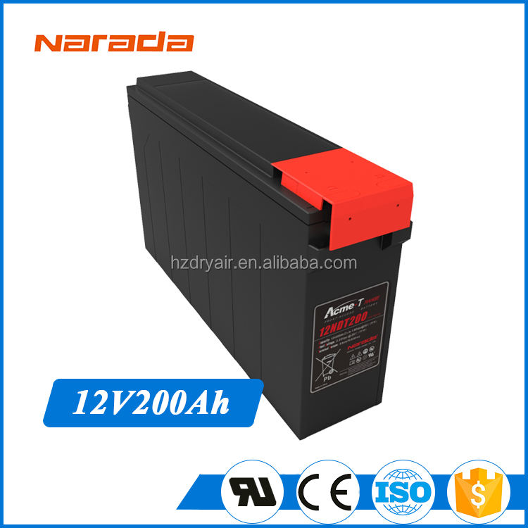 Light Weight Packs Storage 12V 200Ah Best Motorcycle Battery Brand