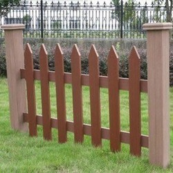 WPC fencing board for garden fence