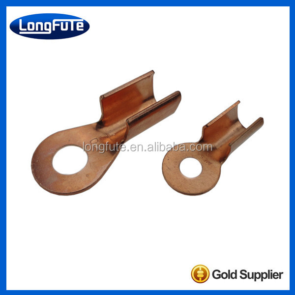 LongFuTe HOT!!!Copper open connecting battery lug cap for battery terminal clip connectors