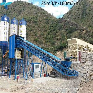 Ready-mixed Admixture Malaysia Elba Concrete Batching Mixing Plant For Sale
