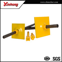 Xinhong underground rock support self drilling high tensile threaded rod for constructions