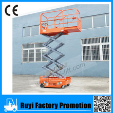 Hot sale self propelled scissor lift, hydraulic lift for painting