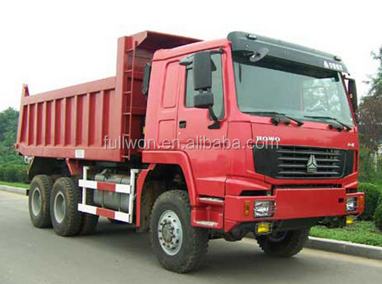 HOWO 6x4 336HP 16m3 used china dump truck for sale