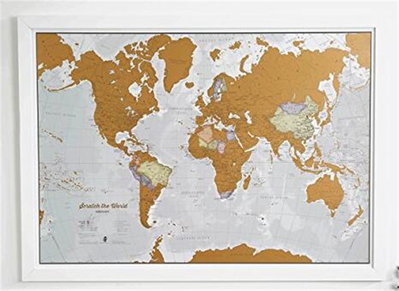 List manufacturers of travel map scratch buy travel map scratch set of world and us travel tracker maps scratch off places you visit paper scratch off gumiabroncs Choice Image
