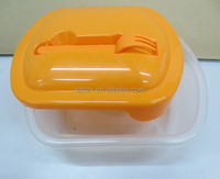 Food grade Reuseful plastic lunch box for microwave