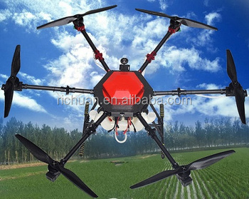 Ladybug ESD0610L Agriculture Sprayer Drone Folded, 10L, Silent, Safe with Intelligent Remote