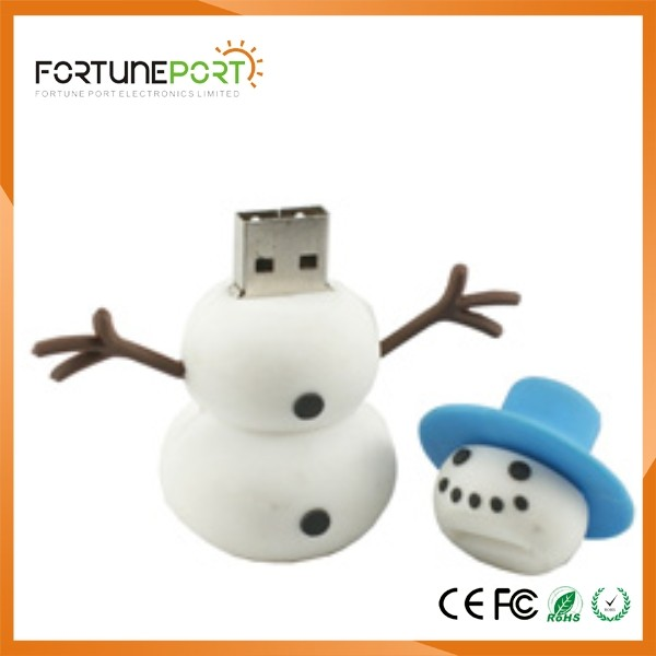Christmas Santa Claus USB 3.0 Memory Stick Flash Pen Drive 4GB 8GB 16GB 32GB