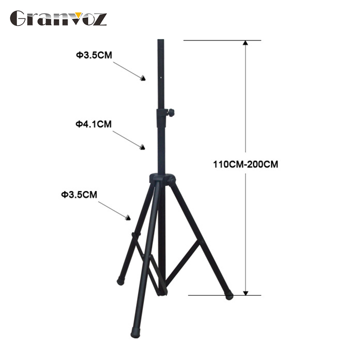 Durable in use best monitor audio adjustable height speaker stands