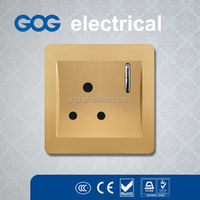 factory directly export wall light switch and socket UK style 15a socket outlet
