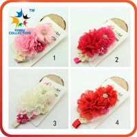 elegant lace infant hair accessory cute baby head bands for babies