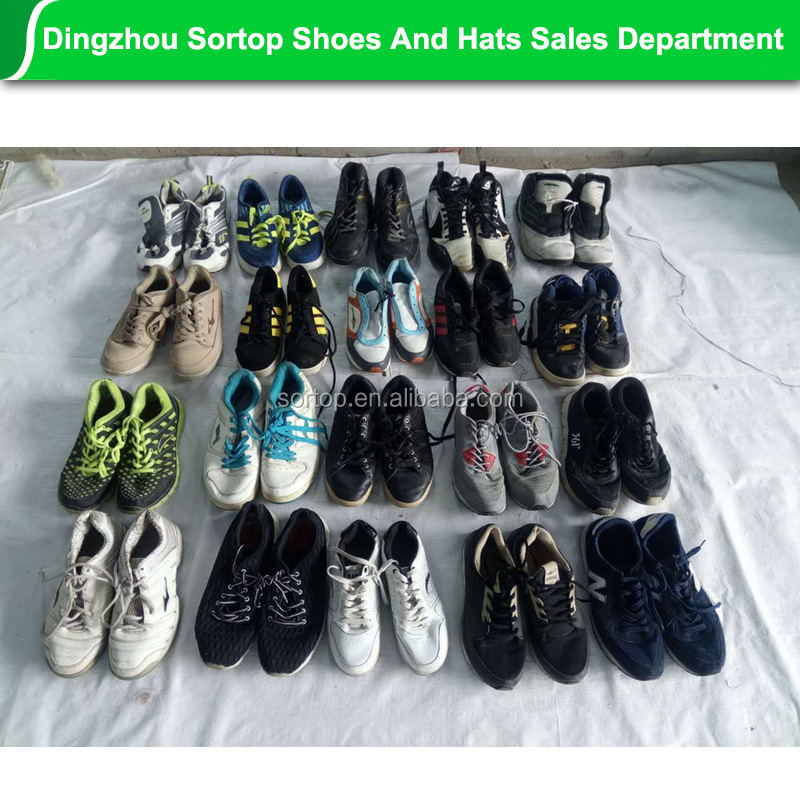 china guangzhou wholesale used tennis shoes market for export.