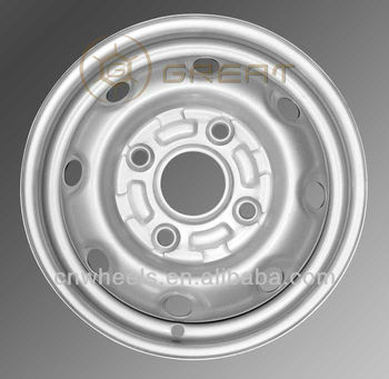 14x5 steel wheel, used for SUZUKI and FOTON