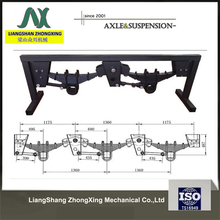 Germany types of trailer suspension semi trailer suspension