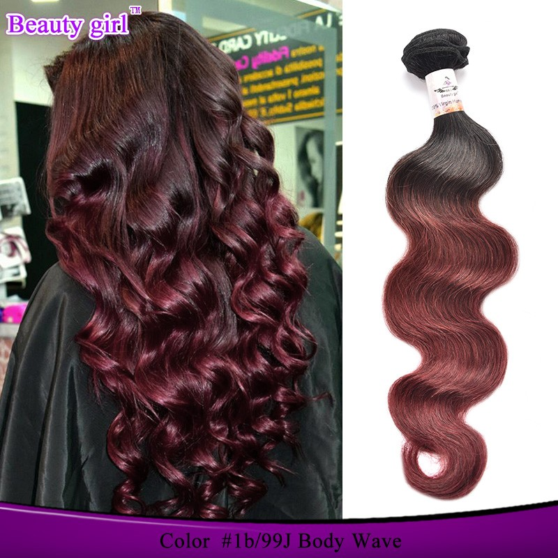 Very cheap wholesale unprocessed human hair extension and weave , two tone ombre marley hair braid