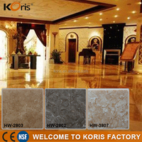 Acrylic solid surface artificial marble stone for interior wall paneling ceiling cheap marble tile