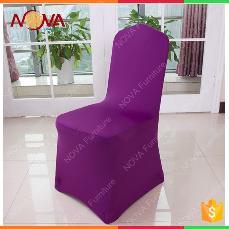 Banquet supplies spandex fabric100% polyester lycra chair cover