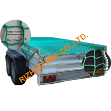 Polypropylene Security Trailer Container Cargo Safety Loading Net