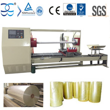 Jumbo Film Roll Cutting Machine With Automatic Loading Function