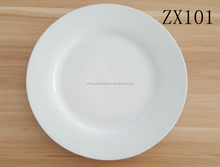 Dishes & Plates Dinnerware Type and Ceramic Material white wholesale dinner plates