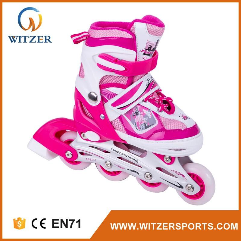 China manufacture zapatillas deportivas in line skate