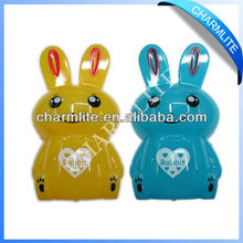 Plastic Rabbit Shape Coin Bank