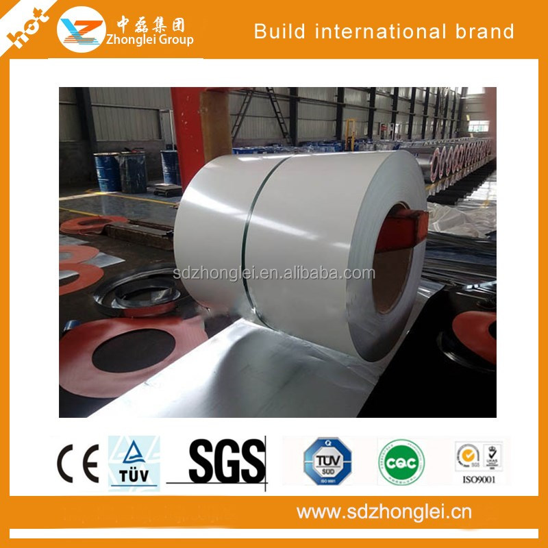 High strength color galvanized steel volume precoating zhonglei from shandong