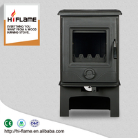China Manufacturer Wholsales Multi Fuel Fireplace and Stove Wood Burning Hearth HF905 with Log Stand