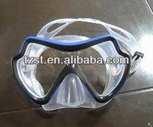 tempered glass adult diving mask M8019