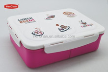 high quality lock lid container for food with compartments