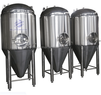 High quality glycol jacketed fermentation tanks for brewing beer