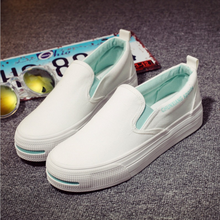 DL20140B 2017 china canvas shoes slip on blank new style canvas shoes
