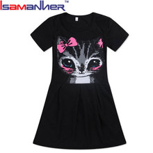 OEM new style summer cotton long dresses for girls of 11 years old
