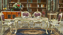 high quality white marble dinning table wooden dining table with marble top designs