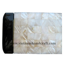 Quality eco-friendly traditionally hand finished lacquerware wedding picture albums with mother of pearl inlay