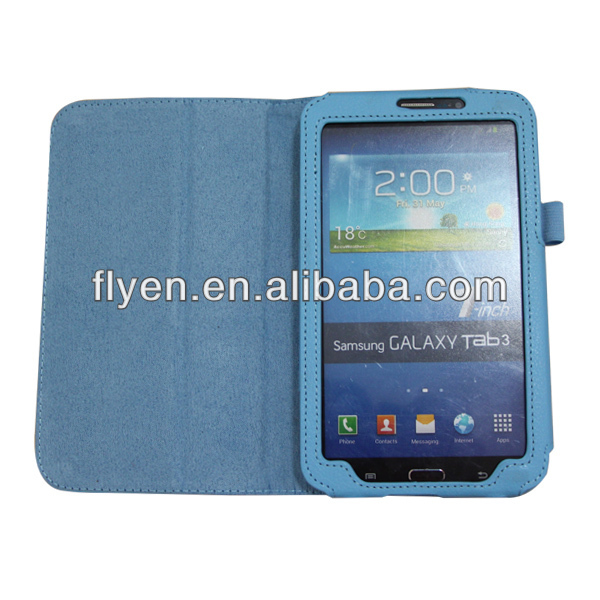 2014 the best selling products folio Leather Case for samsung galaxy tab3 7.0 t210/t211/p3200