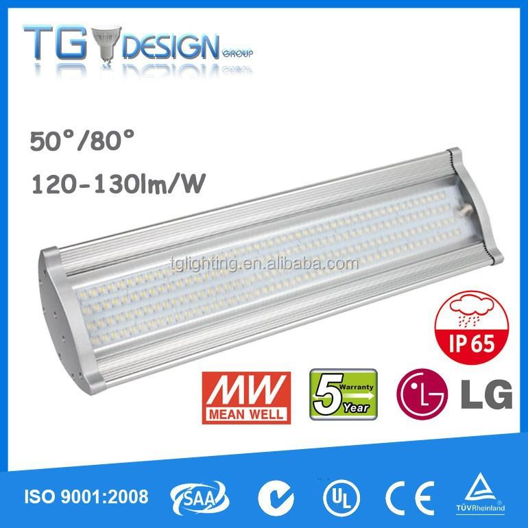 UL DLC LISTED SAA 50/80/120 degree IP65 Meanwell driver 150w 180w Led High Bay Light