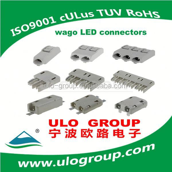 Manufacter factory SMD5050 led strip 60leds 50m roll ip67 high volt led strip middle connector 021 ULO Electronics