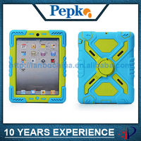 high quality silicone case for ipad 4 3 2