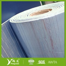 silver heat retardant faced XPE foam insulation color steel sheets