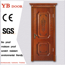 latest design classic hotel modern 30 inch entry front door wooden door frames designs YBVD-6093