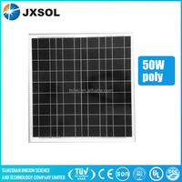photovolatic solar panel pv module 50w poly solar panel for solar power plant