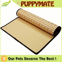 2016 new cozy pet mat Cat/ Dog Bamboo Mat dog mat in summer