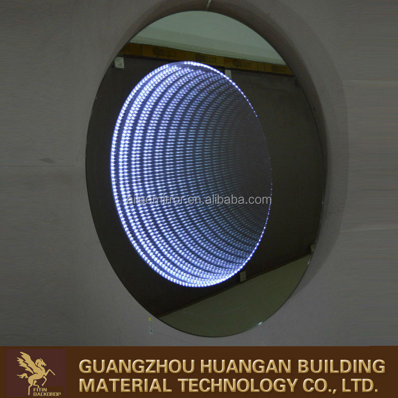 Bathroom infinity LED mirror