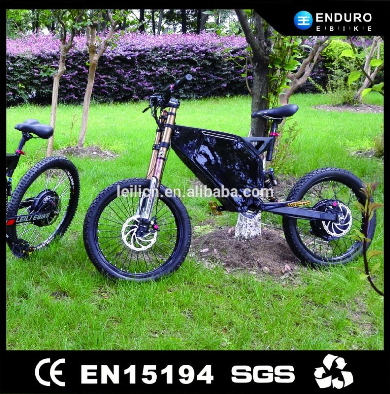 Electric Trial Bike 5000W Enduro Ebike with Light Weight Battery