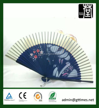 Promotional Gift Wood Painted Spanish Hand Fan