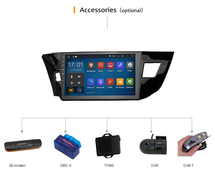 2 din Dynamic Background Pictures Selectable car dvd player with GPS