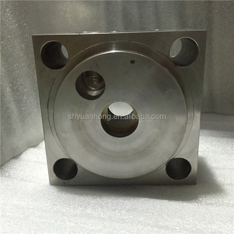hot hobby and professional water jet cutting machine pump intensifier 60K parts End Bell Assy/Right YH007303-1 yuanhong flow