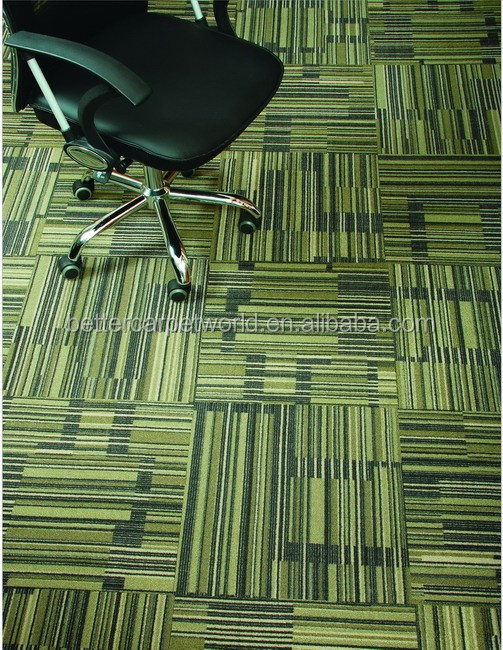 Nylon/PP office Carpet tile manufacturer from China